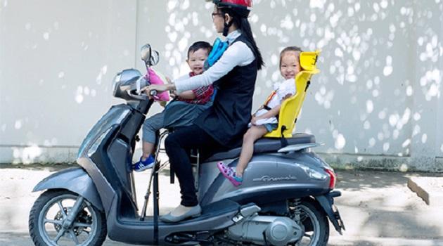 ảnh đại diện ghế ngồi em bé đi xe máy
